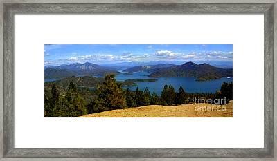 Lake Shasta Framed Print by Garnett  Jaeger