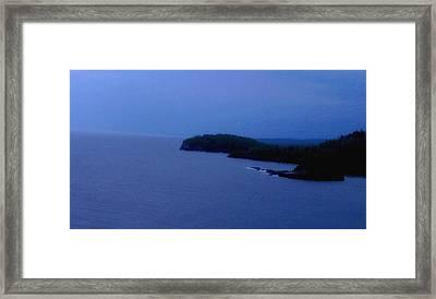 Lake Superior Framed Print by Shweta Singh