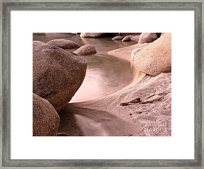 Lake Tahoe Calmness Framed Print