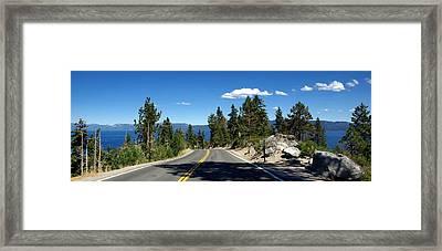 Lake Tahoe Framed Print by Jeff Lowe