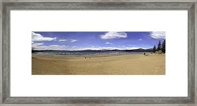 Lake Tahoe Framed Print by Paul Plaine