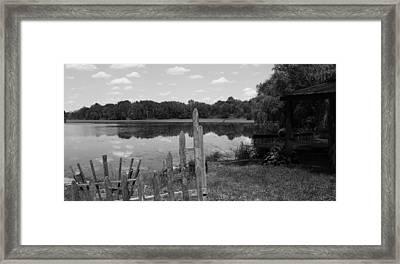 Lake Time Framed Print