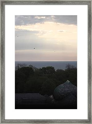 Lake View Framed Print by Hope Williamson