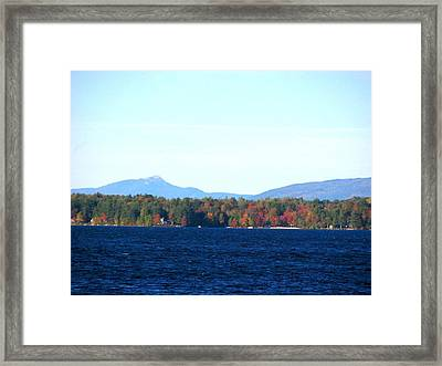 Lake Winnisquam Framed Print