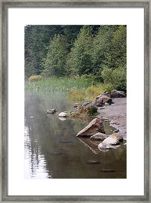 Lakes And Ponds - 0005 Framed Print