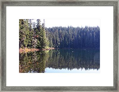 Lakes And Ponds - 0008 Framed Print by S and S Photo