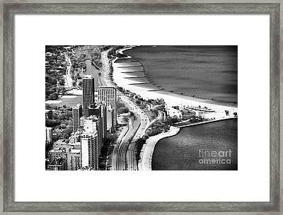 Lakeshore Drive Framed Print by John Rizzuto