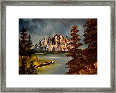 Lakeview Framed Print by Maria Urso