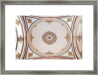 Laleli Mosque Ceiling Framed Print by Artur Bogacki