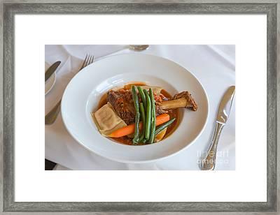Lamb Shank Framed Print