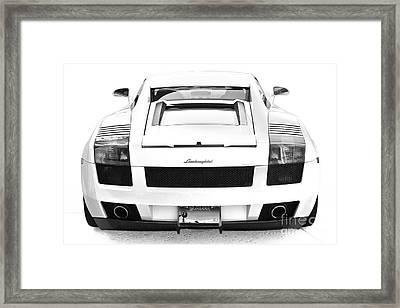 Lambo Gallardo Framed Print
