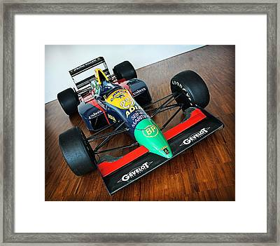 Lamborghini Formula One Framed Print by Graham Parry
