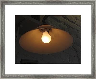 Lamp Framed Print by Yury Bashkin