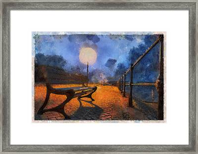 Lamplight Framed Print by Sam Smith Photography