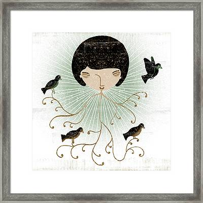Lana Smiles Framed Print