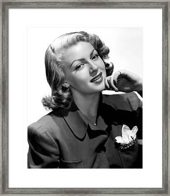 Lana Turner, 1940s Framed Print by Everett