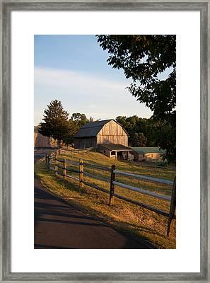 Lancaster County Farm Framed Print by Jim Finch