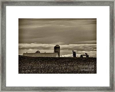 Lancaster Farm 2 Framed Print by Jack Paolini