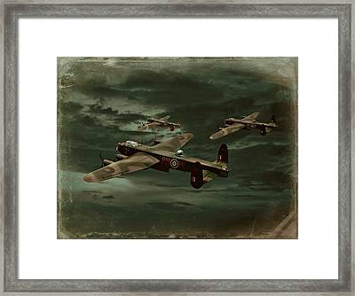 Lancaster Mission Framed Print
