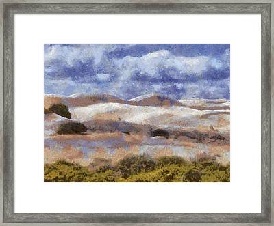 Framed Print featuring the digital art Lancelin by Roberto Gagliardi