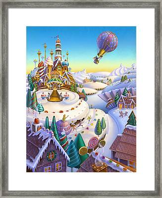 Land Of Sweets Framed Print by Anne Wertheim