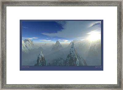 Land Of The Extremes Framed Print by Erik Tanghe