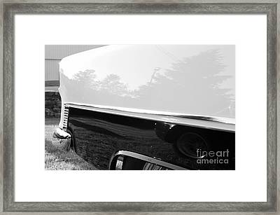 Land Shark Framed Print by Luke Moore