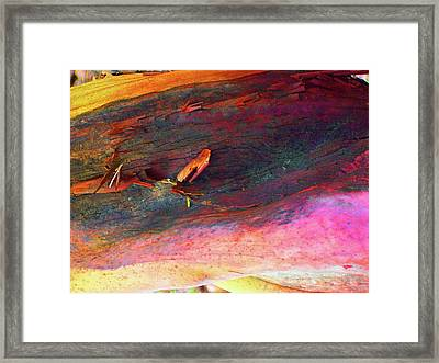 Framed Print featuring the digital art Landing by Richard Laeton