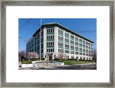 Landmark Life Savers Building I Framed Print by Clarence Holmes