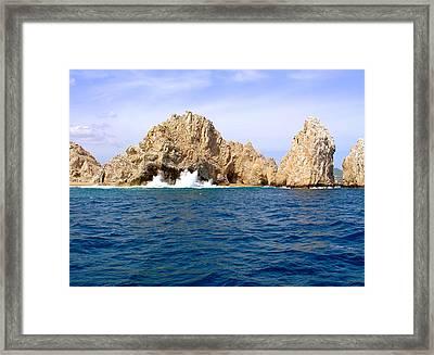 Lands End Baja California Sur Framed Print by Karon Melillo DeVega