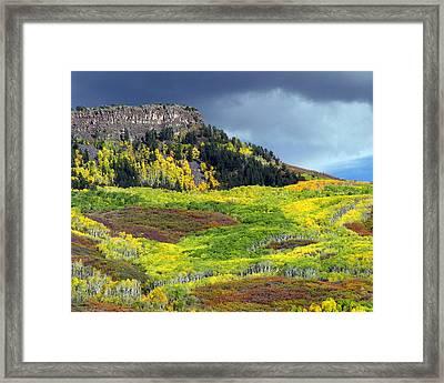 Lands End Road Vista Framed Print