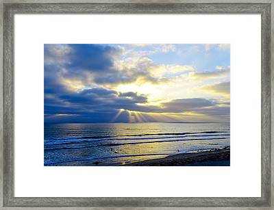 Lands End Framed Print by Tony Marinella