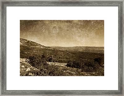 Landscape 2 Framed Print by Maciej Kamuda