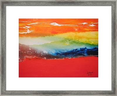 Landscape 3 2012 Framed Print