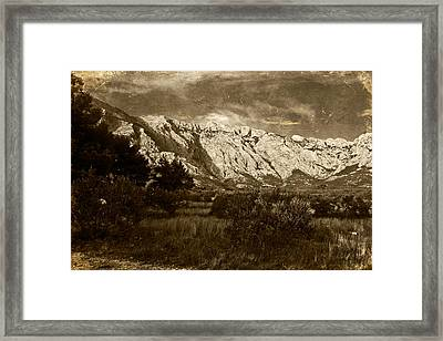 Landscape 5 Framed Print by Maciej Kamuda