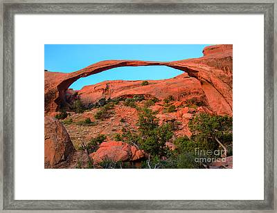 Landscape Arch Framed Print by Robert Bales