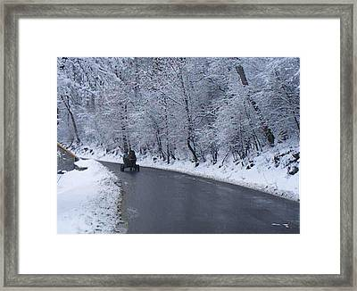 Framed Print featuring the photograph Landscape by Bogdan Floridana Oana
