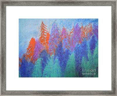 Landscape- Color Palette Framed Print by Soho