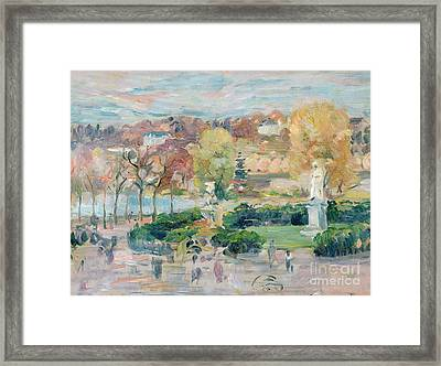 Landscape In Tours Framed Print