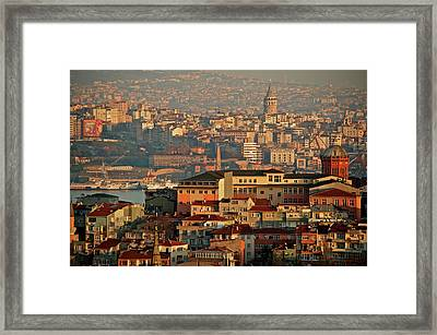 Landscape, Istanbul Framed Print by Photo by Bernardo Ricci Armani