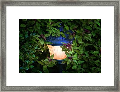 Landscape Lighting Framed Print
