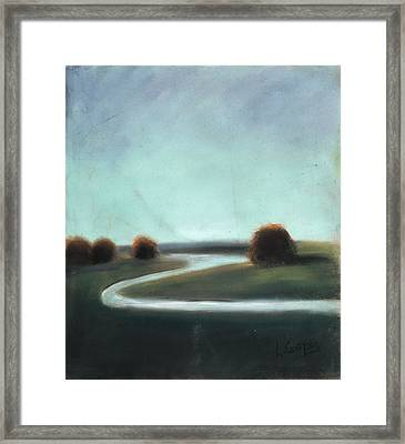 Landscape No 3 Framed Print by L Cooper