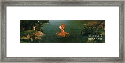 Landscape With Charon Crossing The Styx Framed Print