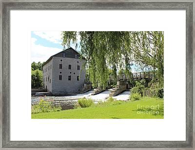 Lang Mill Framed Print