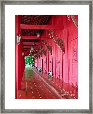 Langkawi Summer Palace Framed Print by Graham Taylor