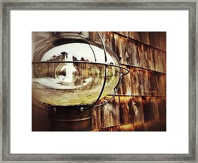 Lantern Framed Print by Olivier Calas