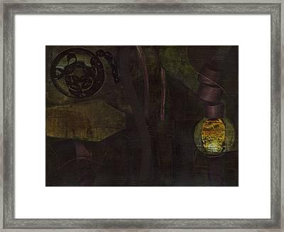 Lantern Twist Framed Print by Alexandra Sheldon