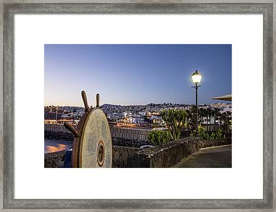 Lanzarote , Canary Islands, Spain Framed Print by Travelstock44 - Juergen Held