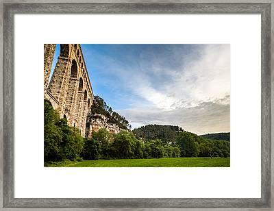 L'aqueduc De Roquefavour Framed Print by Look Me Luck Photography