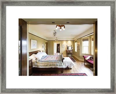 Large Bedroom Framed Print